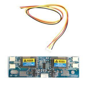 Инвертор подсветки LCD монитора на 4 лампы